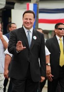 Panama President Varela